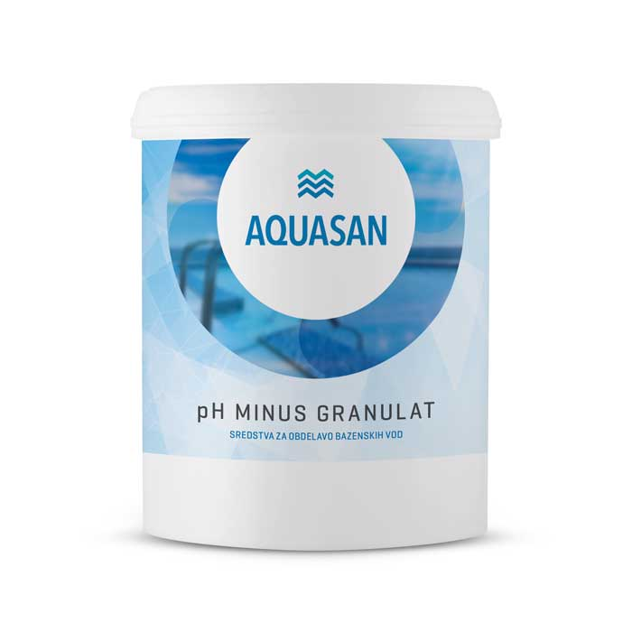 AQUASAN pH minus granulat